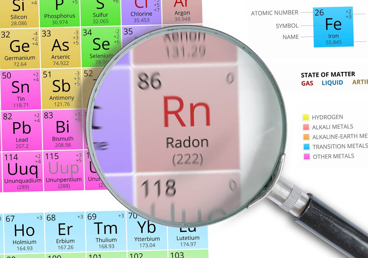 test for radon in the home