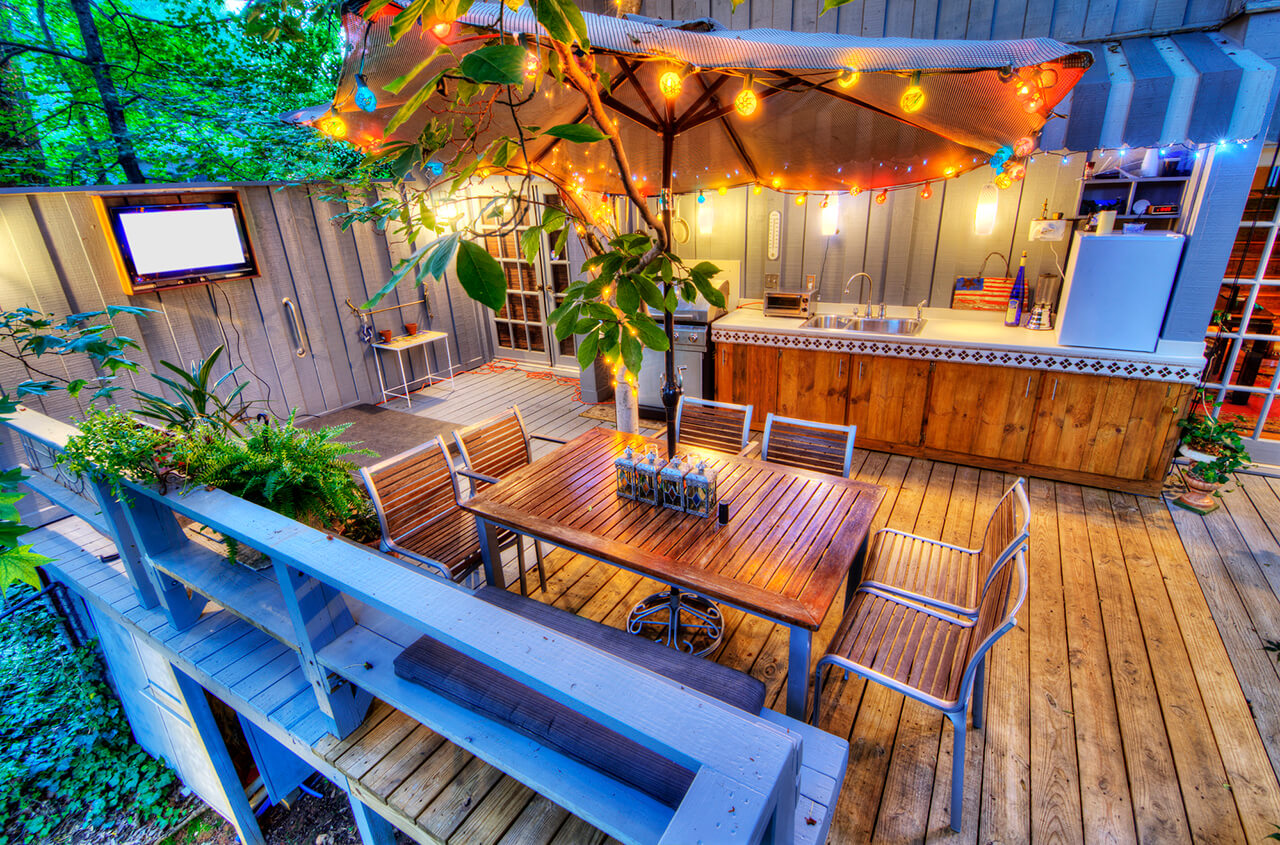 add value to your home with a new deck